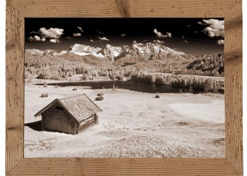 Geroldsee mit Hütte