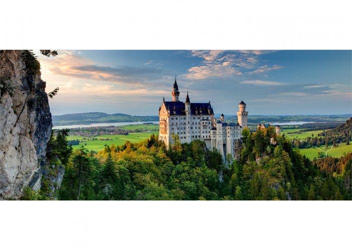 Schloss Neuschwanstein, Schwangau bei Füssen, Schwaben, Bayern, Deutschland