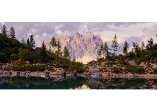 Sorapiss-See gegen Cadinigruppe (2839m), Cortina d'Ampezzo, Dolomiten, Provinz Belluno, Venetien, Italien